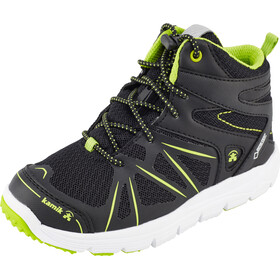 Kamik Kids Fury Hi GTX Shoes Black/Lime-Noir/Lime